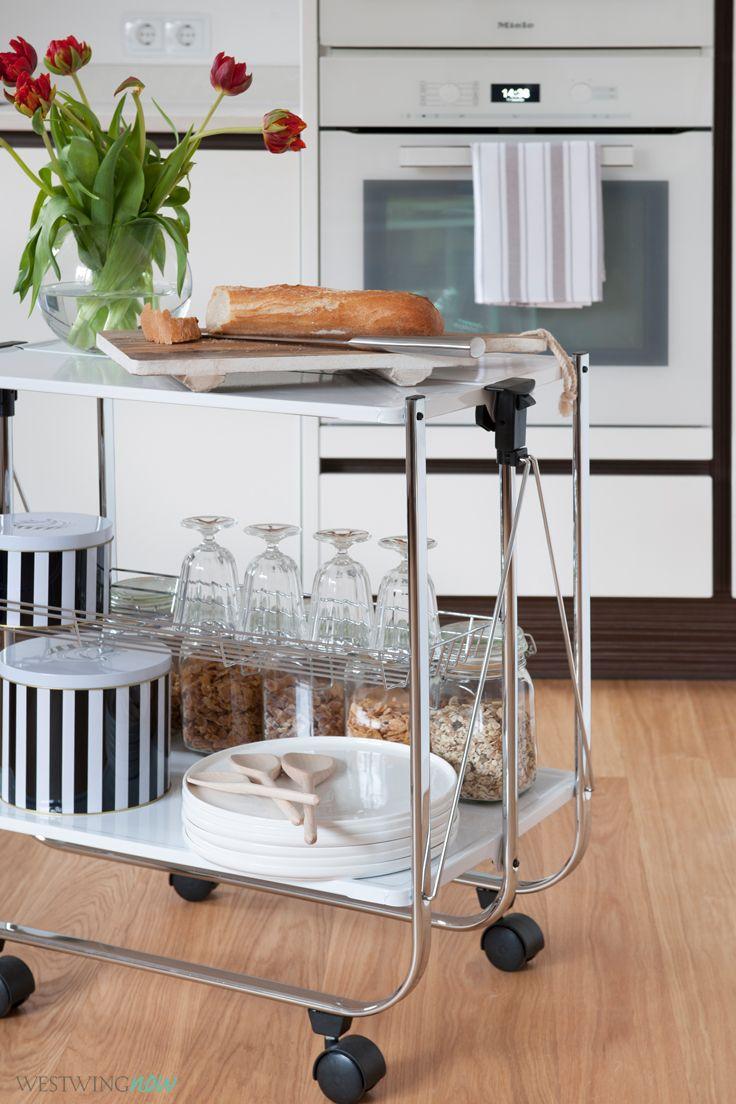Essen auf Rädern: Küchen- und Servierwagen feiern gerade ein Revival ...