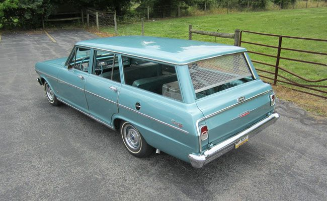 Car Of The Week 1962 Chevrolet Nova Station Wagon Station Wagon