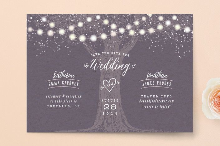 Wonderful Save The Date Card Examples .