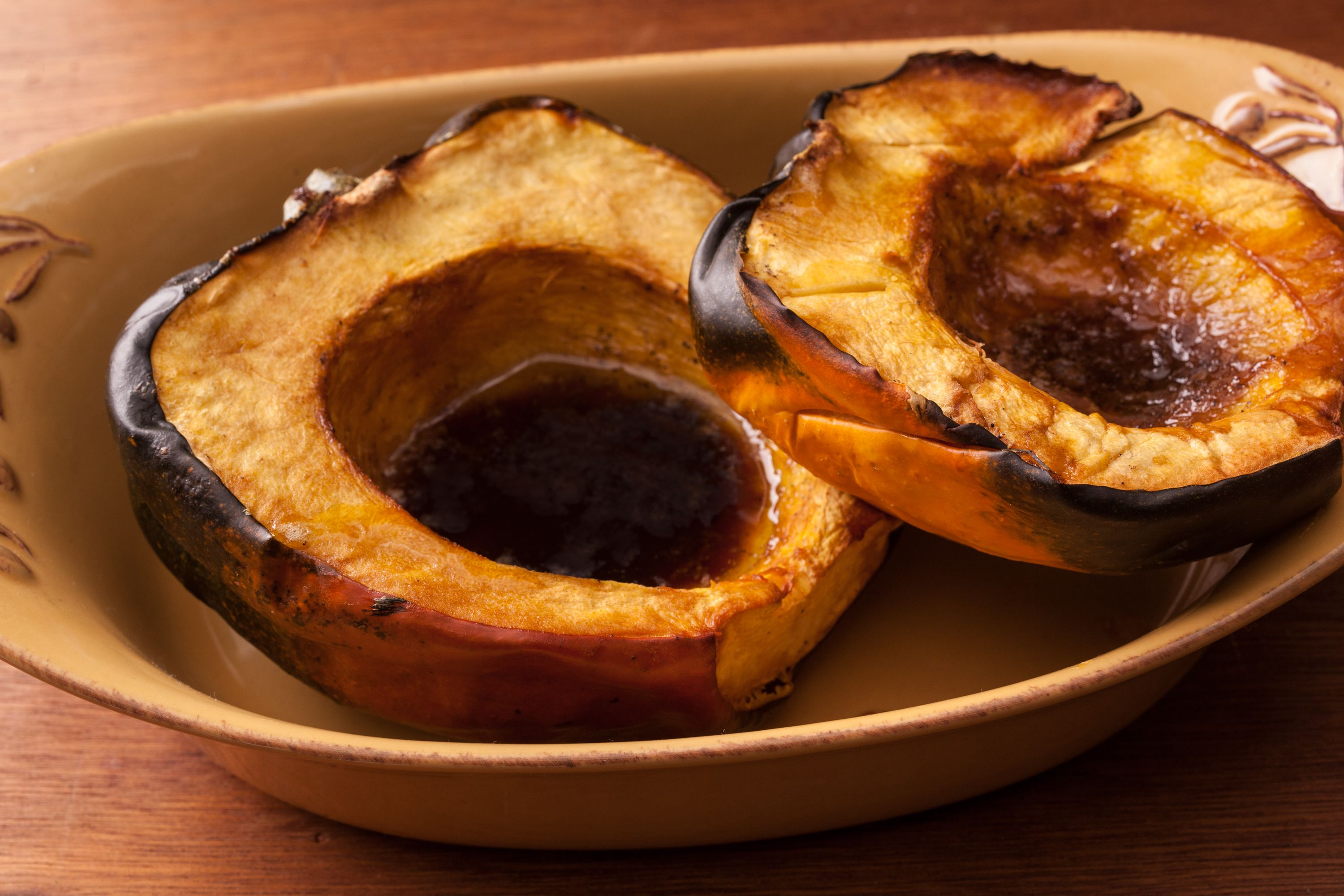 Easy Roasted Acorn Squash Recipe With Images Acorn Squash