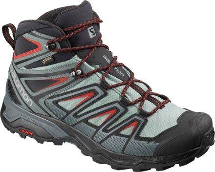 Salomon Men's X Ultra 3 Mid GTX Hiking Boots LeadStormy