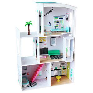 They Can Play Pretend With Our Kids Space Doll House Complete With Three Levels They Will Have Fun Role Playing And Deve Kid Spaces Doll Houses For Sale House