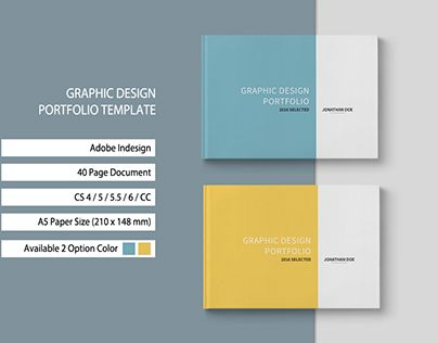 Graphic design portfolio template template pinterest graphic graphic design portfolio template toneelgroepblik Choice Image