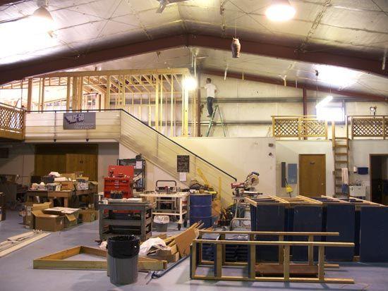 hangar-loft-remodel | Garage | Pinterest | Lofts, Garage workshop ...