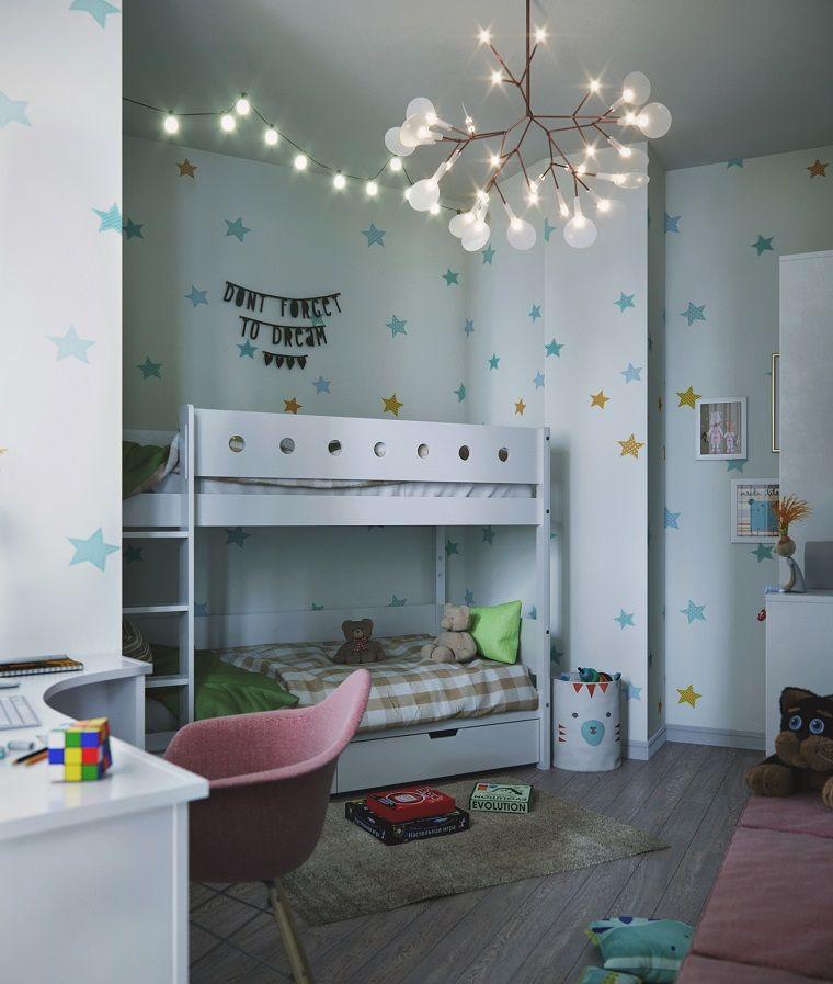 Literas blancas muy originales habitaci n para ni os pinterest dormitorios infantiles - Literas blancas ...