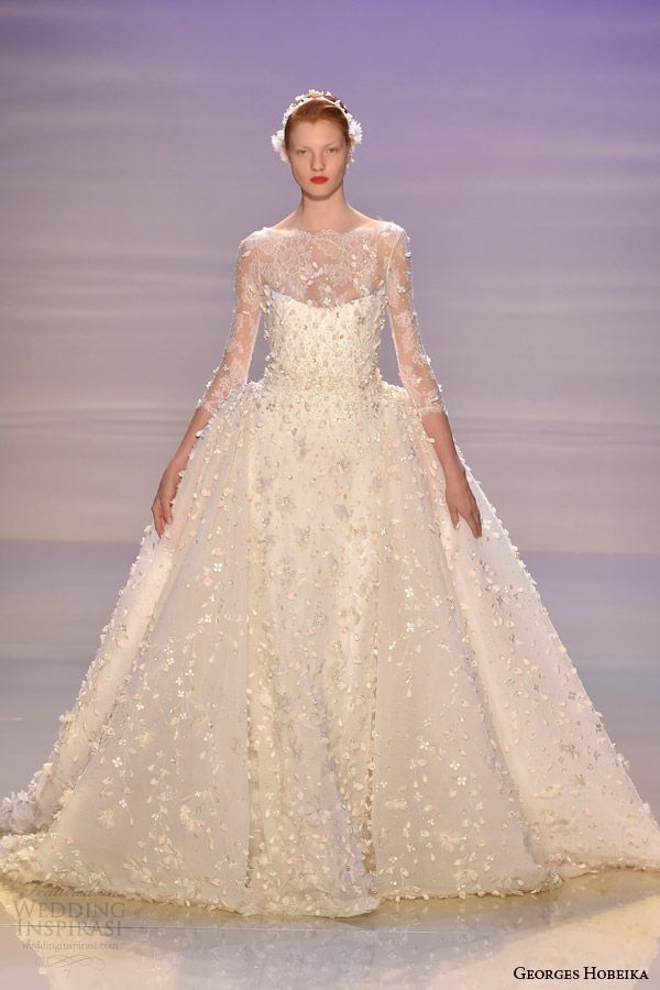 Georges Hobeika 2015 Bridal Collection
