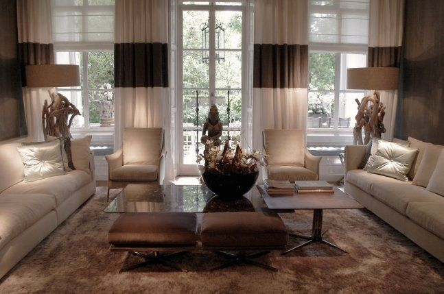 Byron \ Jones Int - bruin   beige interieur clean design living