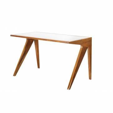 Rosewood Mid-Century Style Desk #Mecox #interiordesign #MecoxGardens #furniture #home #decor #design #interiodesign