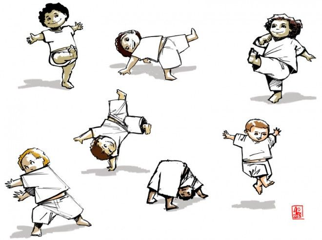 Croquis / Sketches : Capoeira Kids ! ^^ #2 | Characters | Pinterest ...