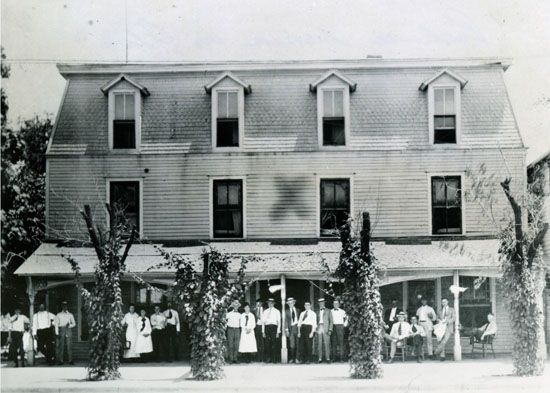 Alva Oklahoma Images The Runnymede Hotel As It Eared After Its Move To