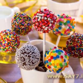 Кейк попсы   Десерты, Пирожное на палочке, Кекс на день ...