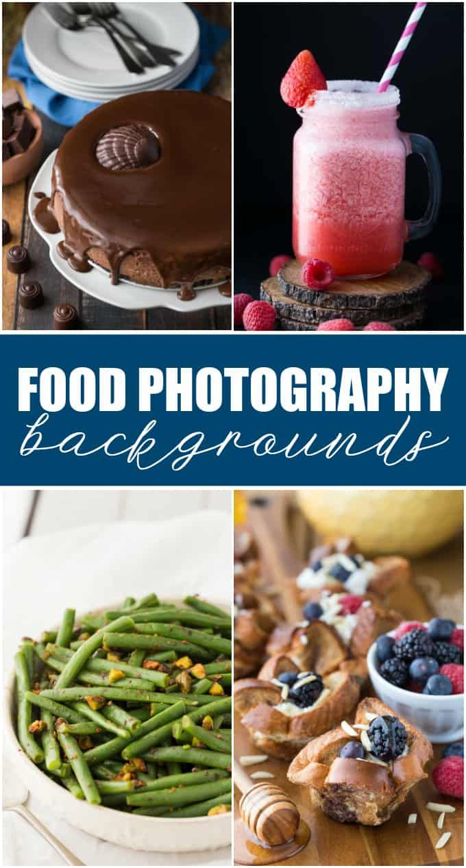 12 Food Photography Backgrounds