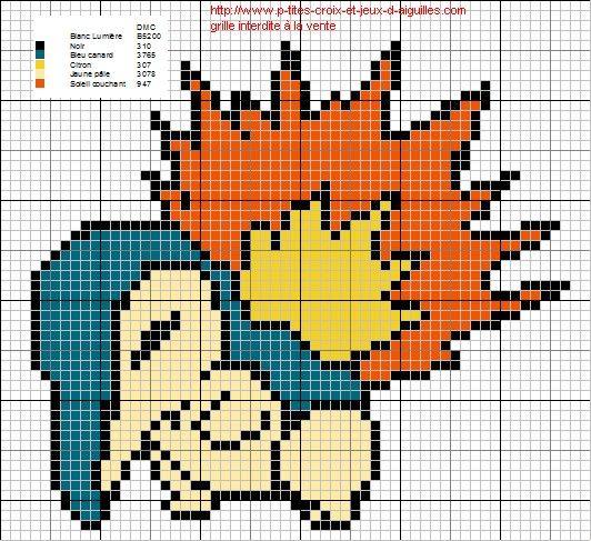 Grille Gratuite Point De Croix Pokemon Pixel Art Pokemon Pixel Art Minecraft