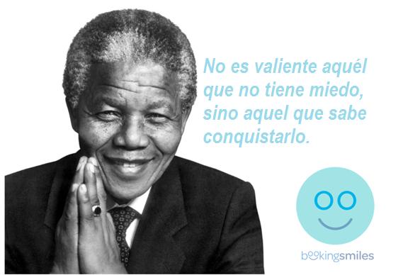 'No es valiente aquel que no tiene miedo, sino el que sabe conquistarlo' http://bit.ly/1r8z8M1  #MandelaDay #Time2Serve