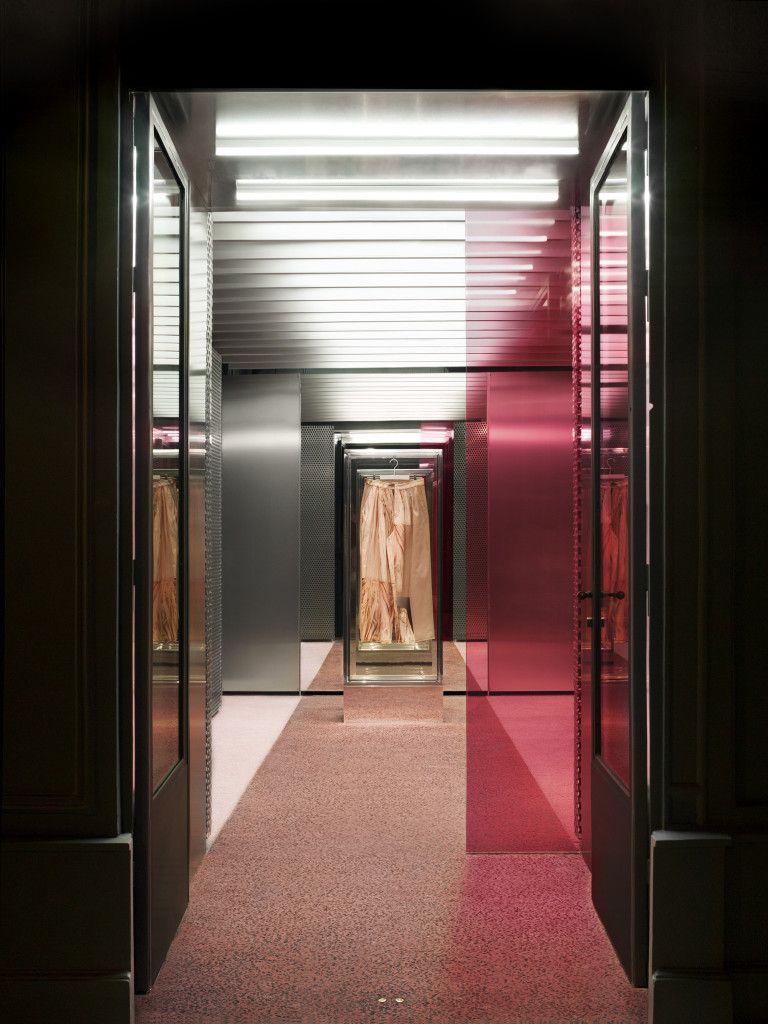 ACNE STUDIOS - 1 Quai Voltaire, Paris designed by Bozarthfornell Architects 9ea8df5255a