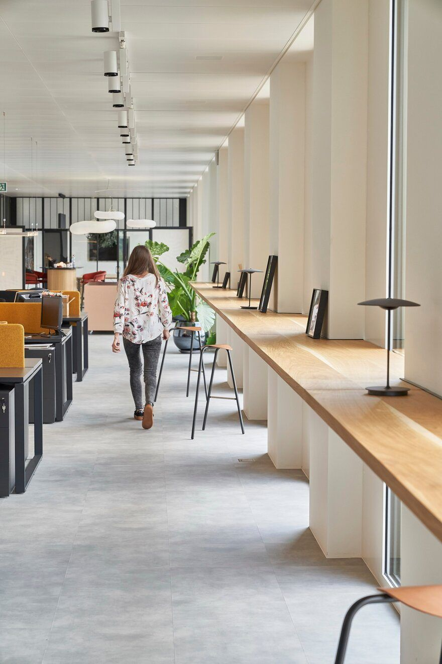 DLG New Creative Workspace in Geneva by Bloomint Design #officedesign