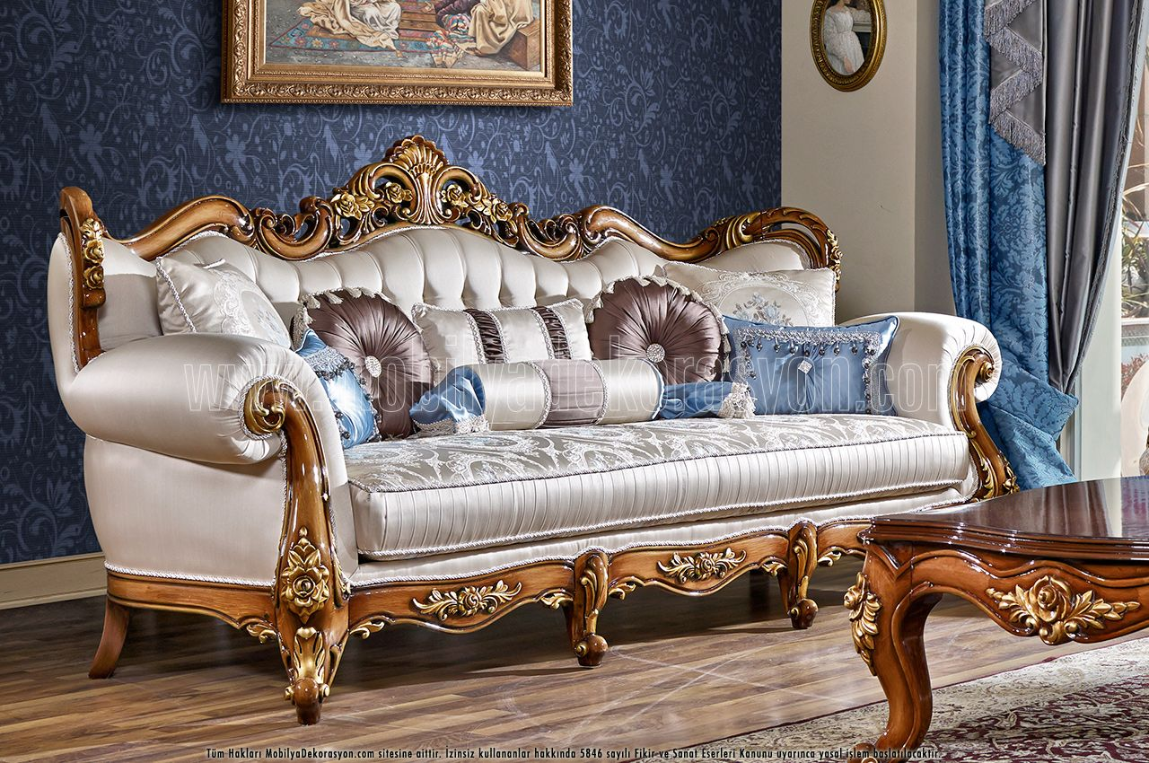 Victorian living room eolo victorian furniture - Armchairs