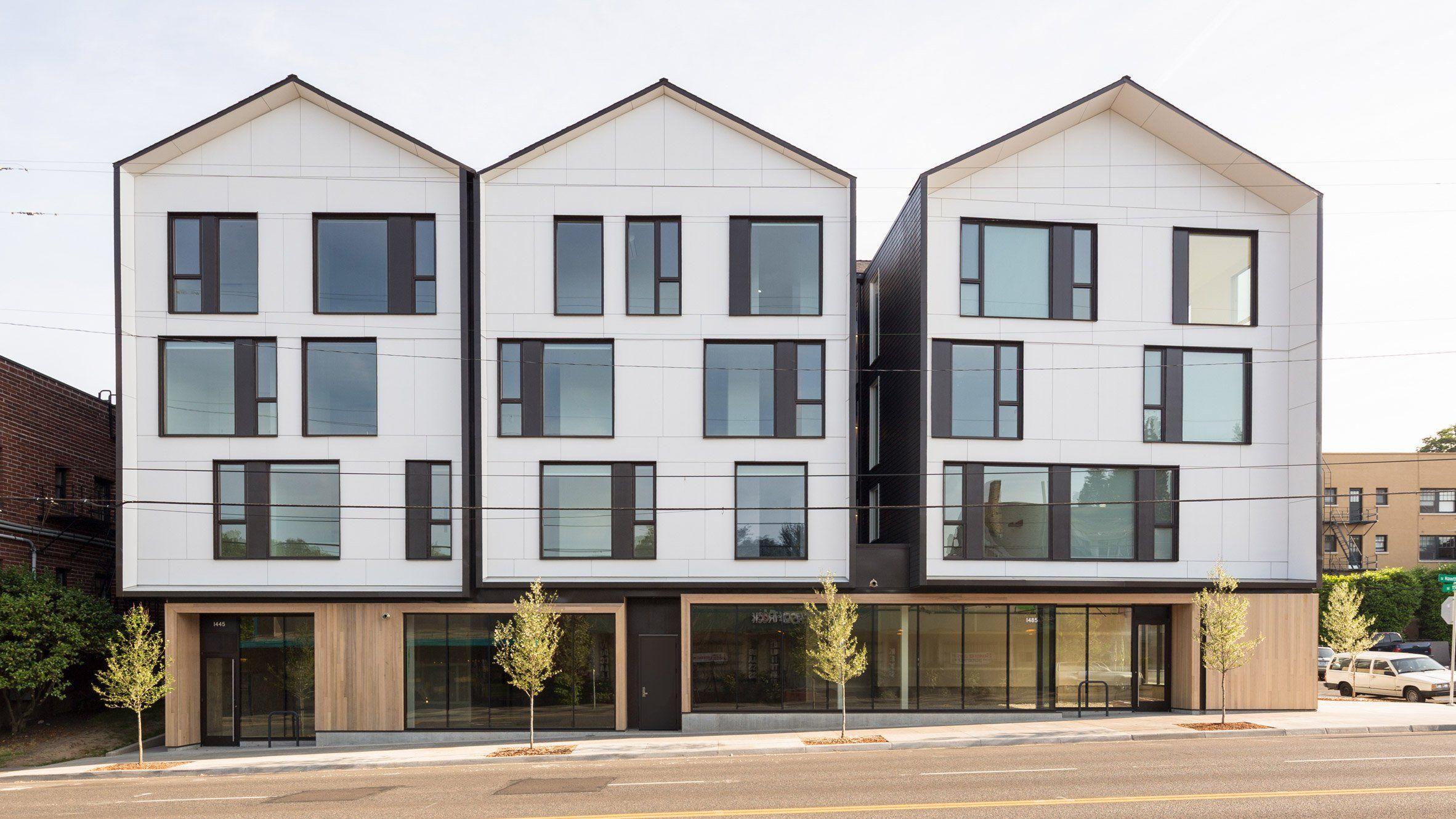Works Progress Architecture Creates Langano Apartments In Portland Architecture Portland Architecture Portland Apartment