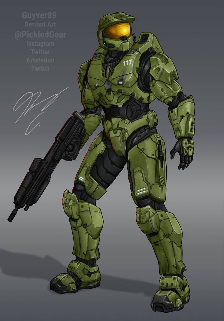 Halo Infinite Master Chief By Guyver89 Halo Master Chief Master Chief Master Chief Armor