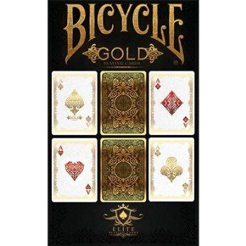 Bicycle Silver Playing Cards by US Playing Cards Poker Spielkarten Cardistry