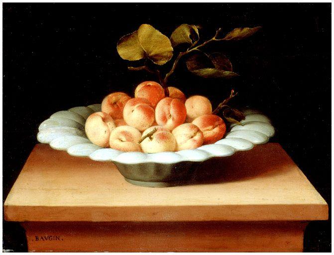 Lubin Baugin - Coupe de fruits - Lubin Baugin — Wikipédia
