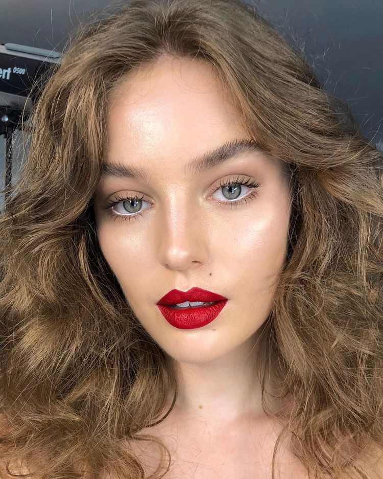 Pin by Diya on makeup Day makeup looks, Red lips makeup