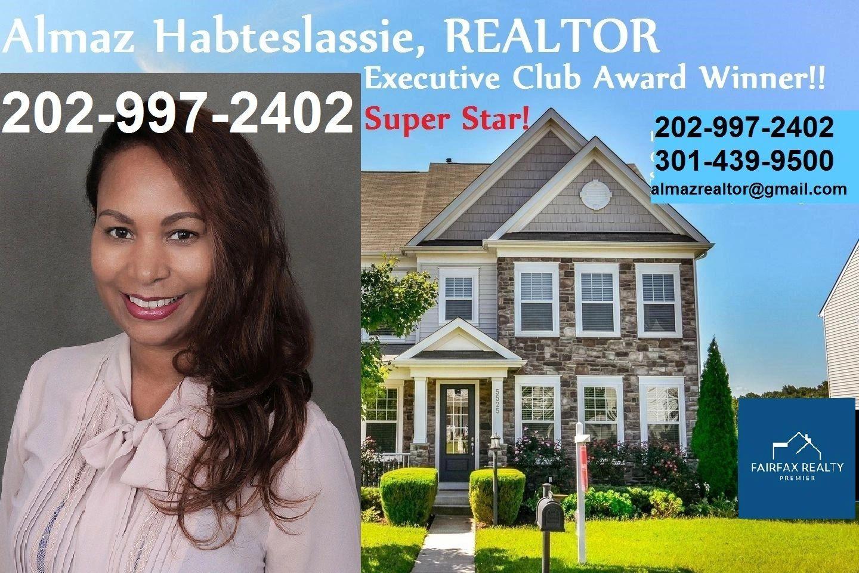 Almaz Habteslassie Realtor In Md Va Dc Real Estate Agent Estate Agent Top Real Estate Agents