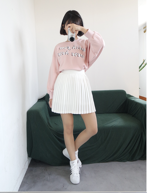 Korean Daily Fashion Roupas Coreanas Kawaii E Saia