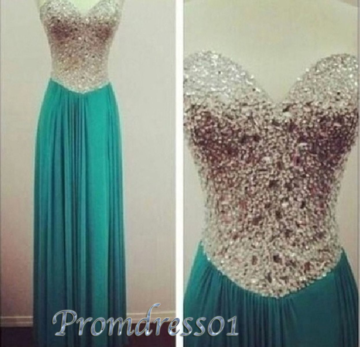 spring beaded high waist long prom dress homecoming promdress