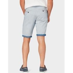 Photo of Tom Tailor Herren Josh Regular Slim Bermuda Shorts, blau, unifarben, Gr.38 Tom TailorTom Tailor