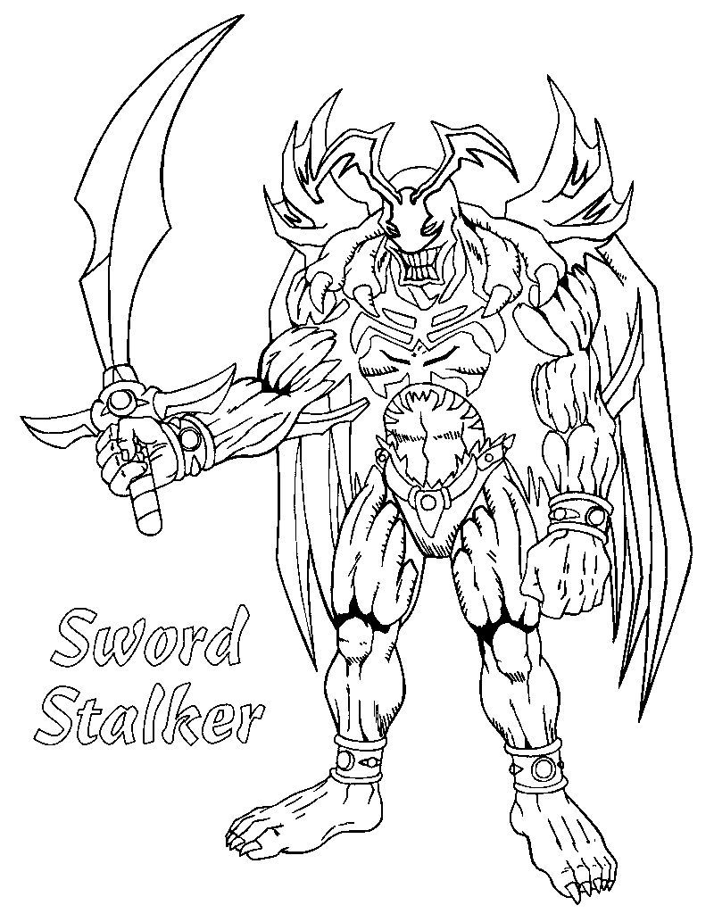 Yugioh Coloring Pages To Print Pdf Yugioh Tegninger