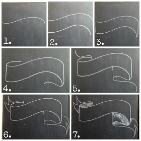 Tutorial for Drawing Chalkboard Banners [Fancy up yourself -- 12-05-14