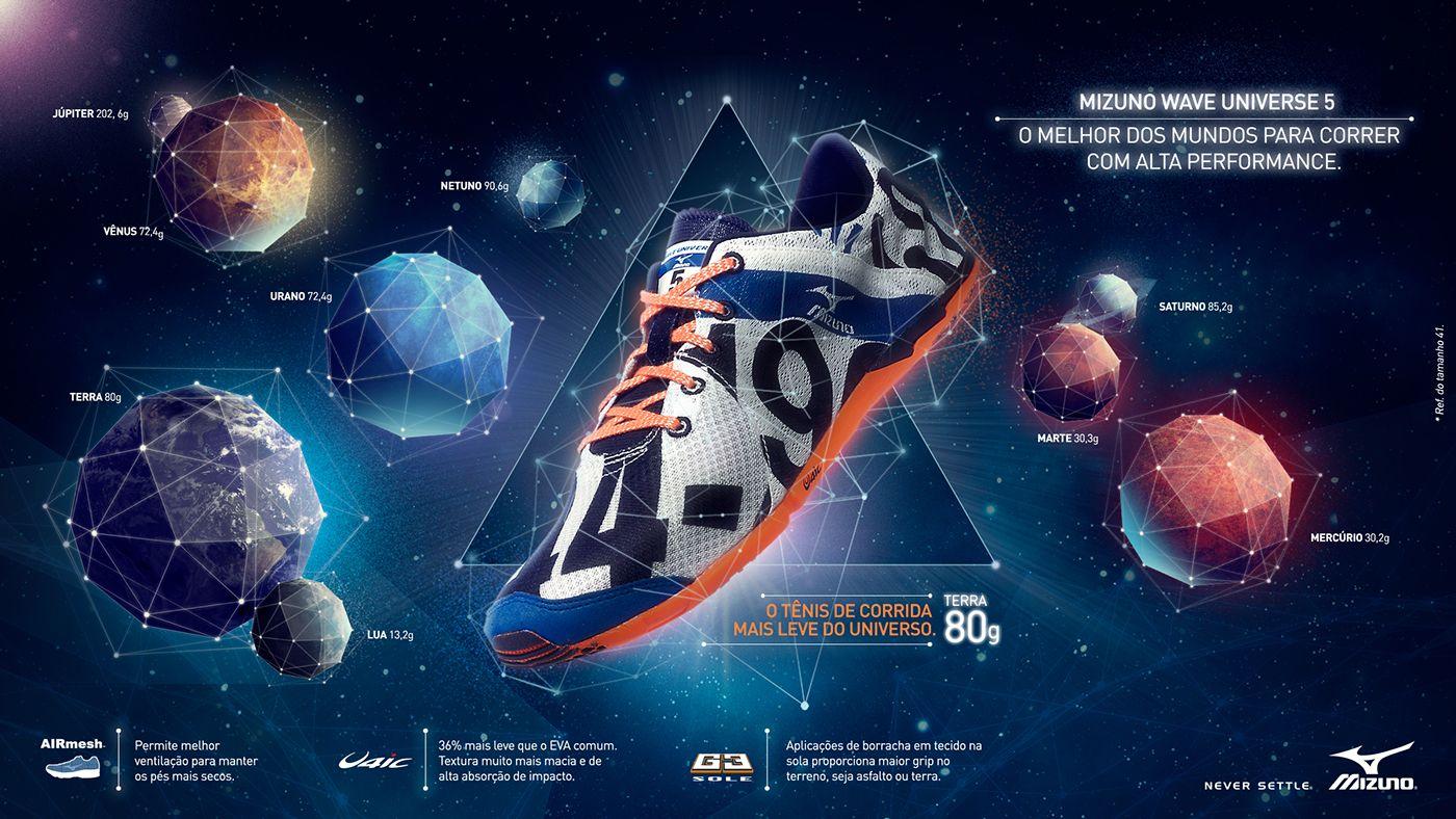 Lançamento Tênis - Universe e Mondrian on Behance