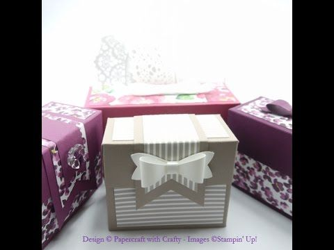 Gift Bag Punch Board Boxes