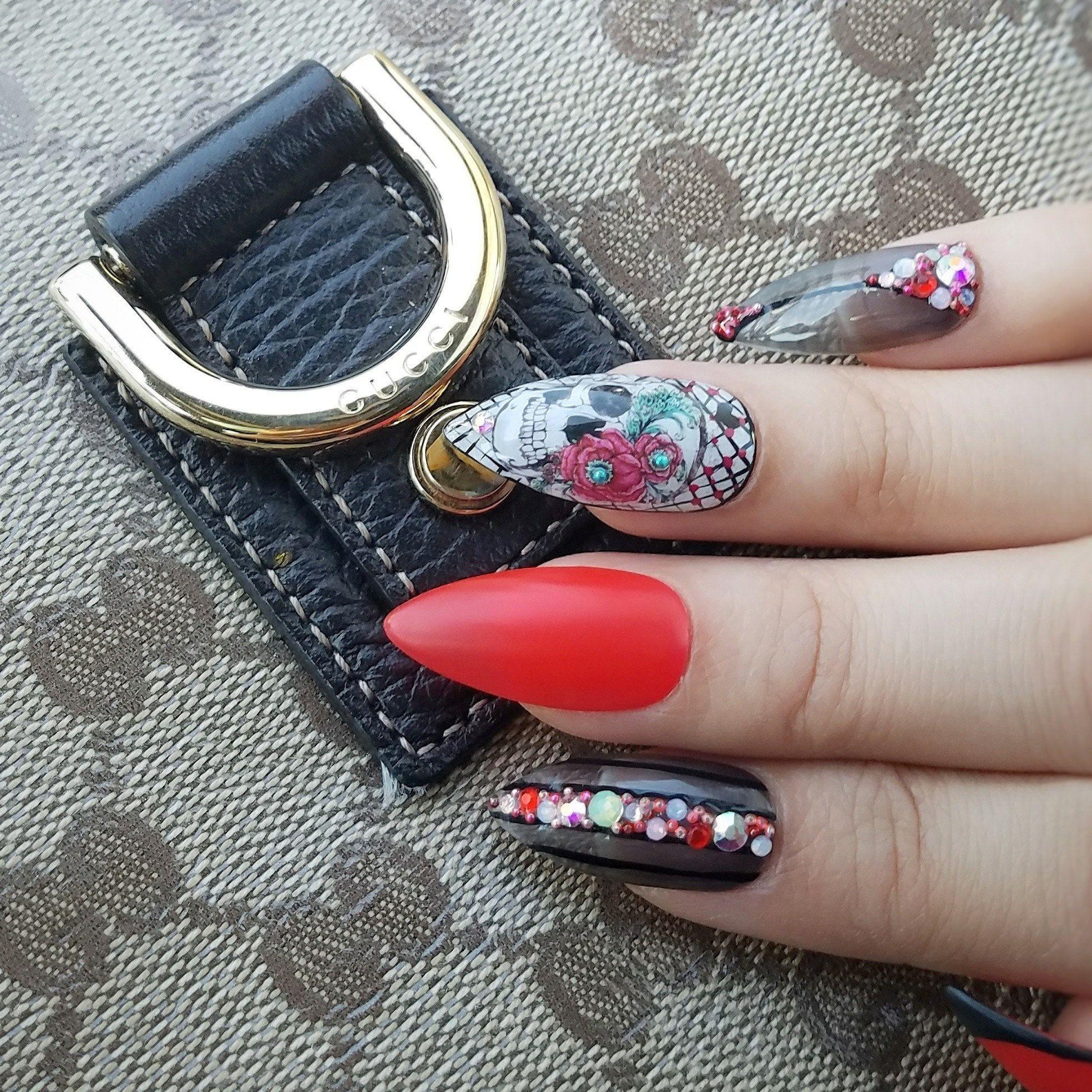 25 Off Press On Nails Fake Nails Use Glue Or Nail Art Adhesive