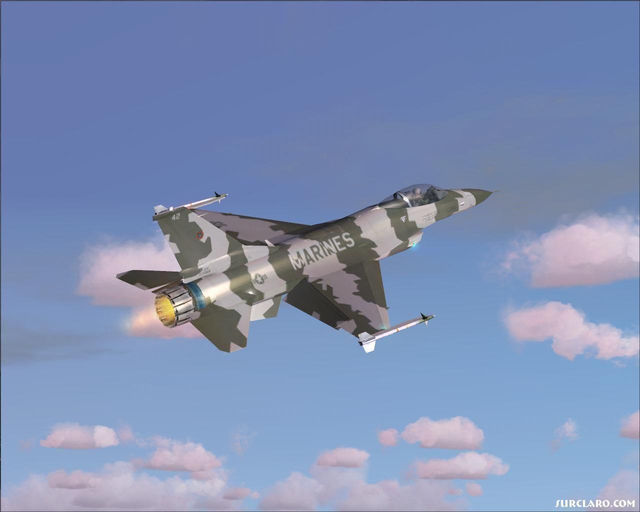 F-16.1 Climbing
