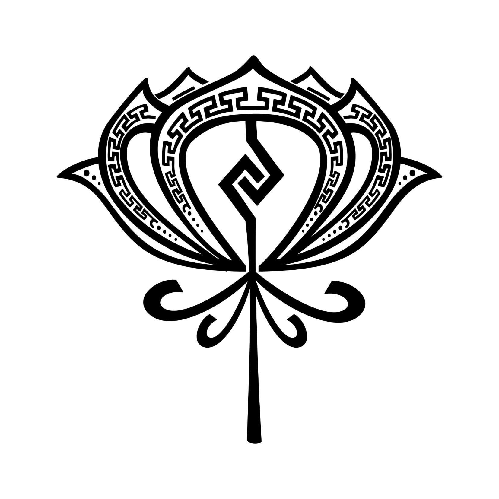 Aztec Symbols Tatuaggio Di Loto Aztecoperfezione Unione Tattoo
