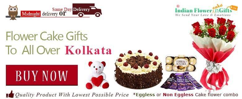 Cake Delivery Gift Shop Flower Kolkata Birthday