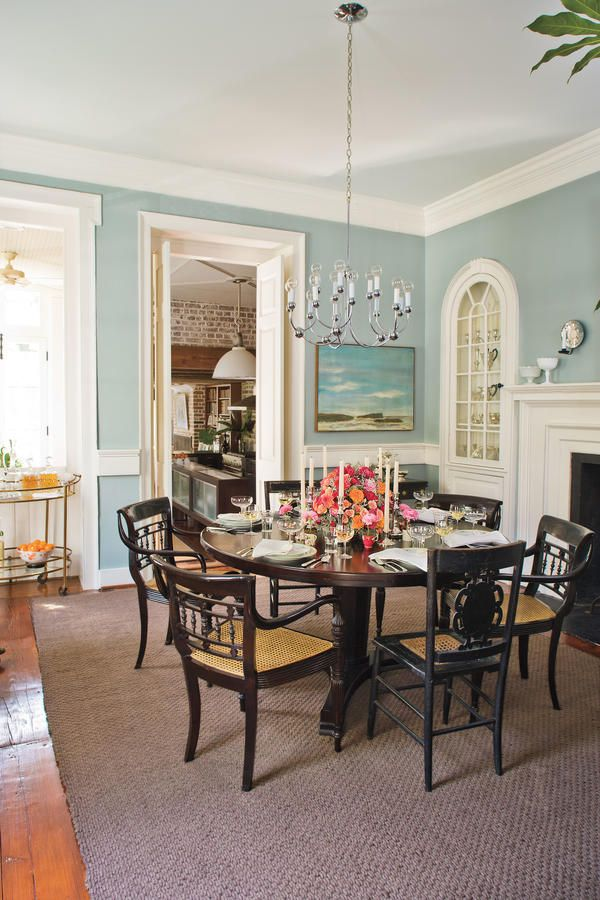 Attractive 79 Stylish Dining Room Ideas: Try A Round Table