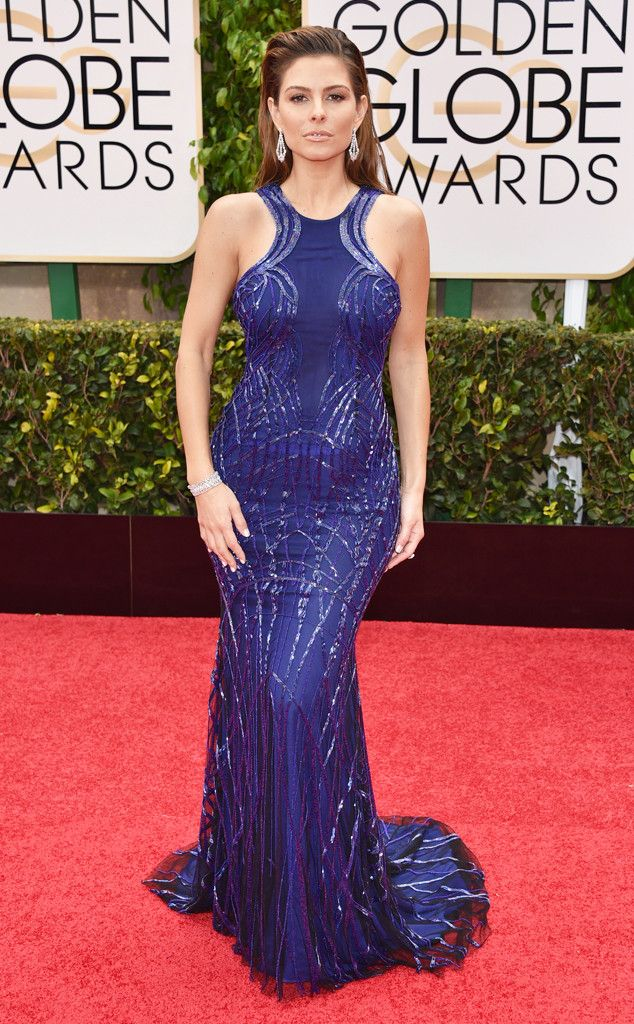 Maria Menounos from 2015 Golden Globes Red Carpet Arrivals   Diseño ...