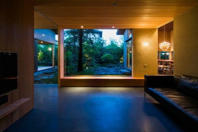 la maison moderne japonaise par uemachi laboratory nihon. Black Bedroom Furniture Sets. Home Design Ideas