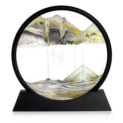 Rainbow Vision Sand Picture Walnut Window Sand Pictures