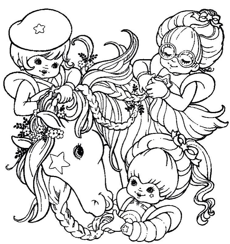 16++ Rainbow brite coloring pages printable information