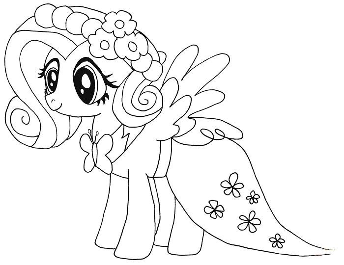 Ufakliklarin Ozellikle Kiz Cocuklarinin Bayildigi Ve Cok Sevdigi My Little Pony Karakterlerinin Yer Aldigi My Boyama Sayfalari My Little Pony Boyama Kitaplari