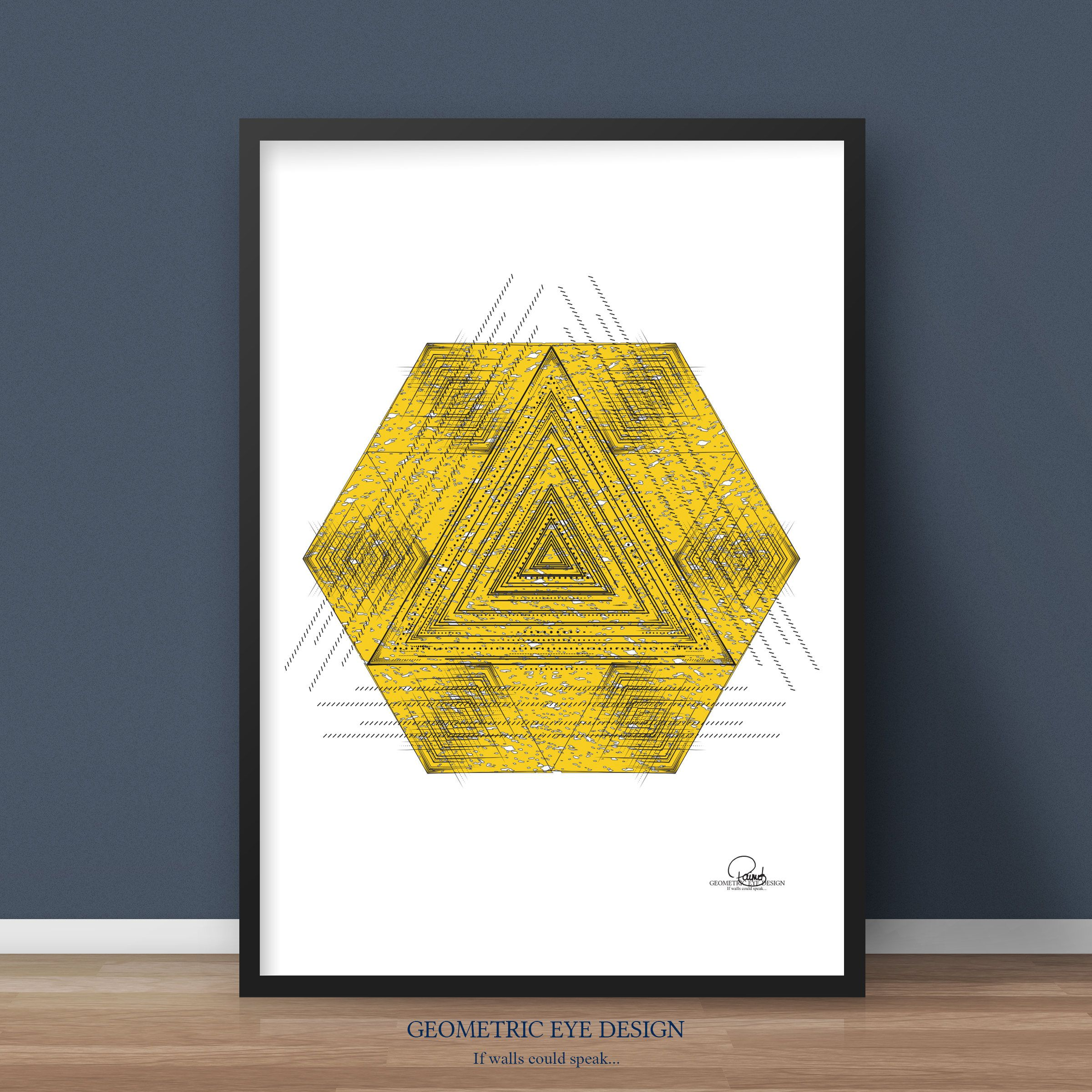 Yellow art, Yellow wall art, Yellow wall decor, Yellow prints ...