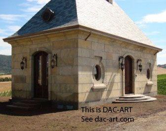 small concrete house in DAC-ART  www dac-art com | Stone Homes