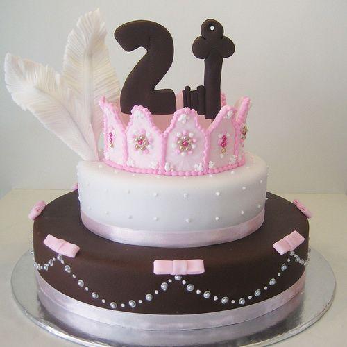 queen cake 21st girls birthday 21st Birthday Cakes for Girls 21