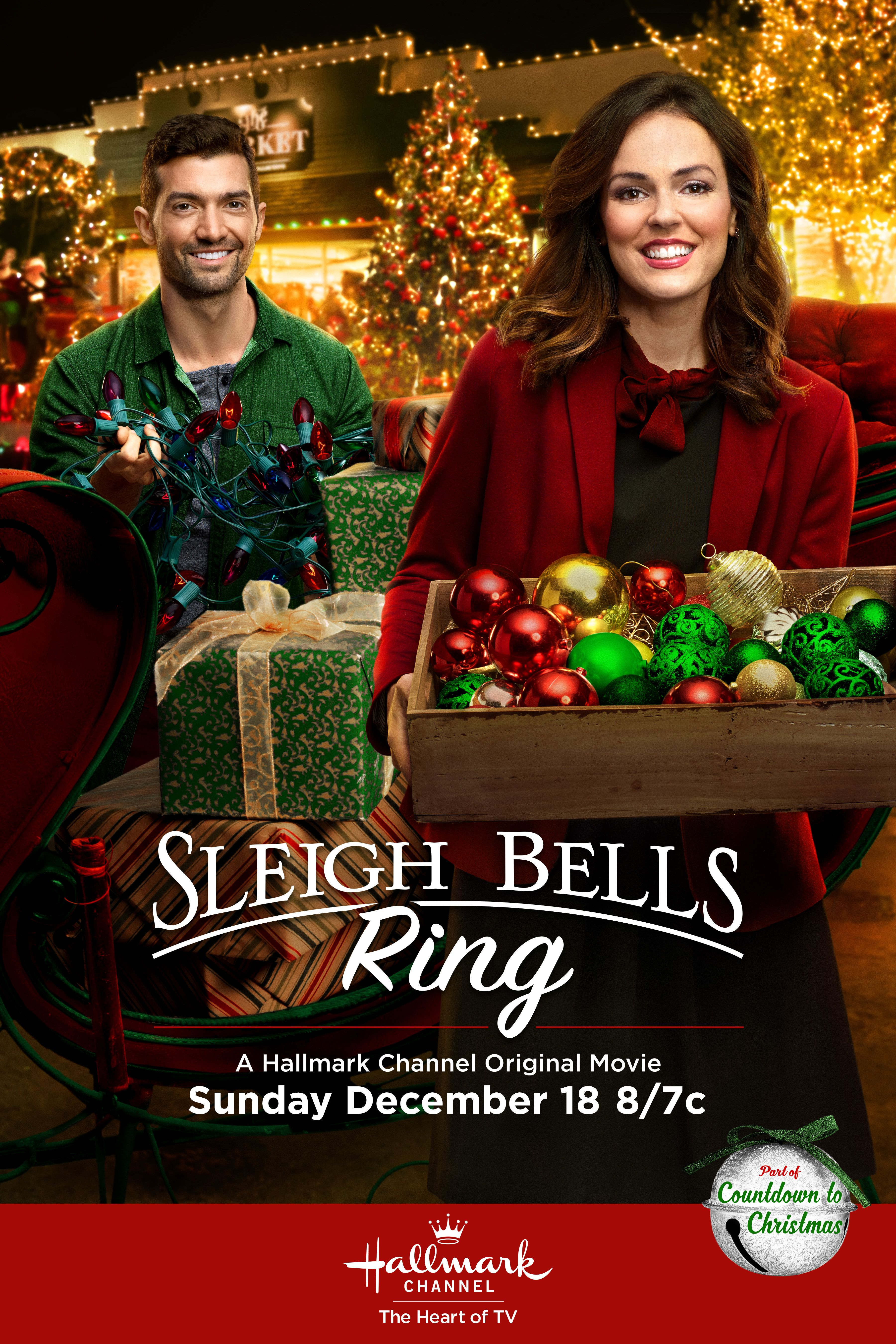 """Sleigh Bells Ring"" (2016) | Hallmark channel christmas movies, Christmas movies, Hallmark ..."
