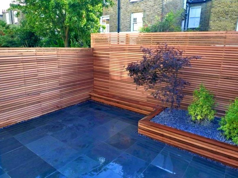 Backyard Fence Ideas Pictures Fence Design Backyard Fences