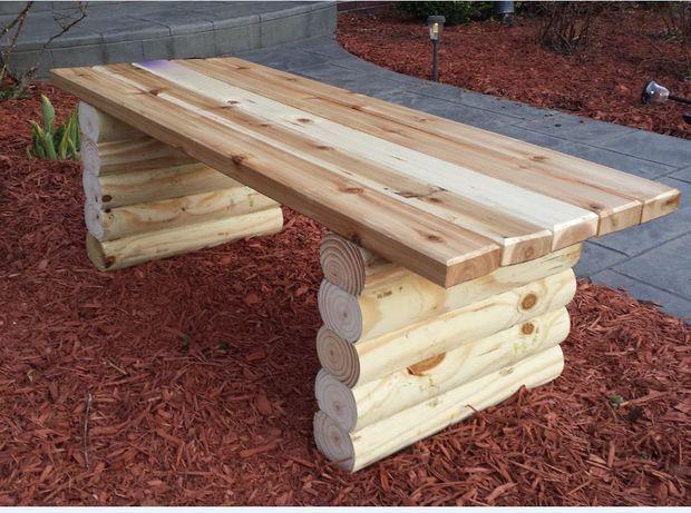 easy garden bench - Easy Garden Furniture To Make